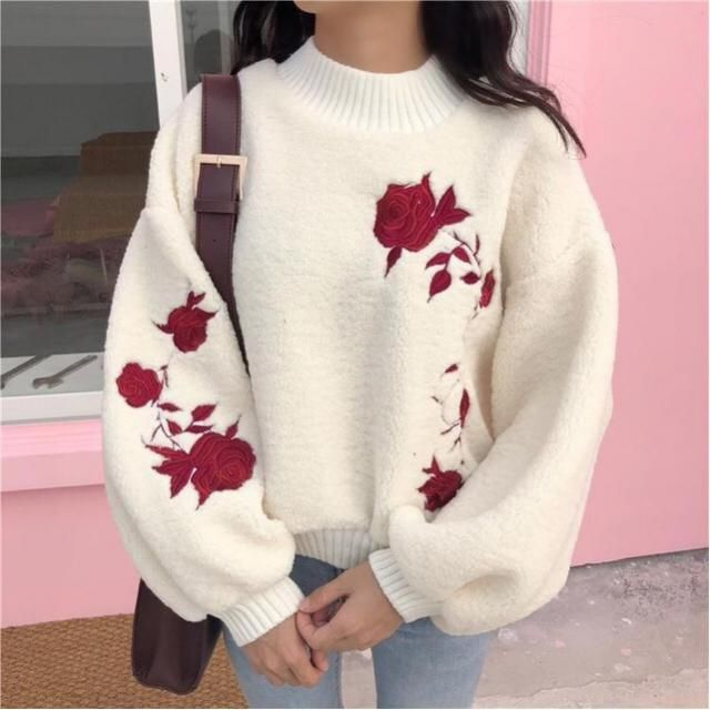 I want a sweater this cute.