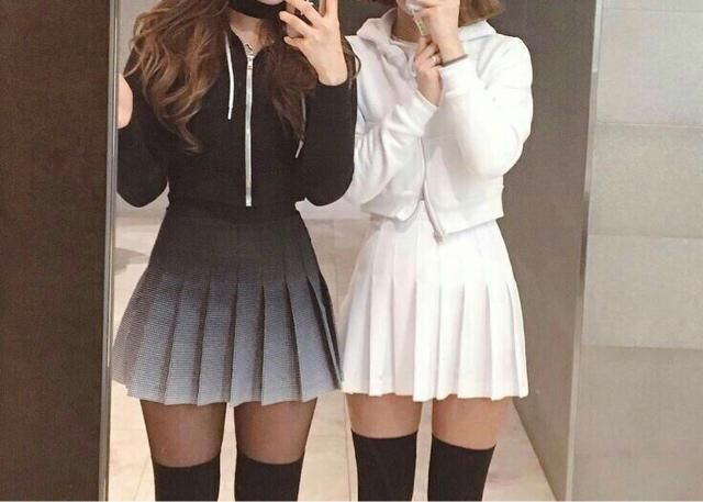 I love both of these looks but I would go more for the black because that's more me and black flatters my petite size…