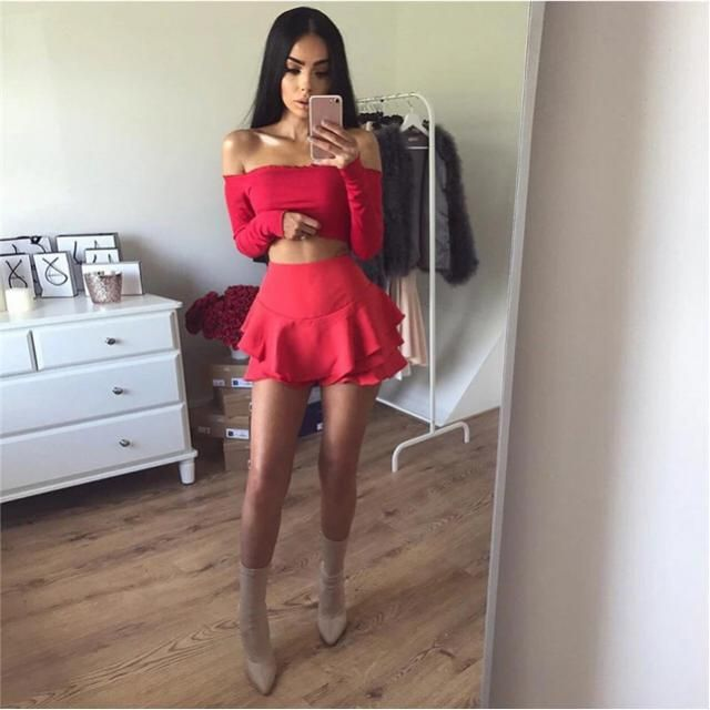 All red outfit for dinner date, yay or nay?