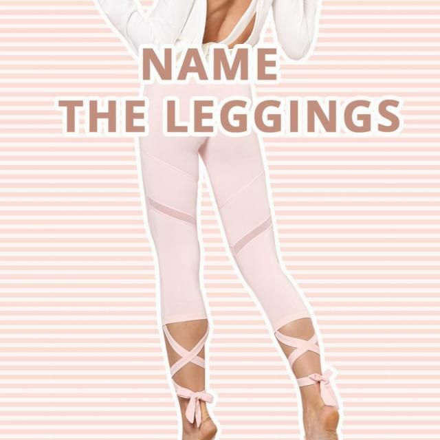 Wow~Activewear can be special! Doesn&;t it look attractive? Though it doesn&;t have a memorable name yet. Can you name …