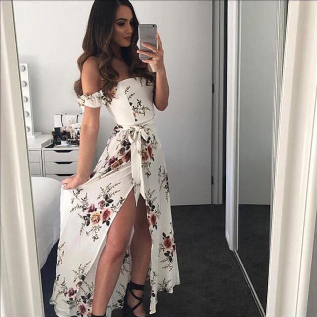 I do know what you should wear for prom, try this cute maxi dress