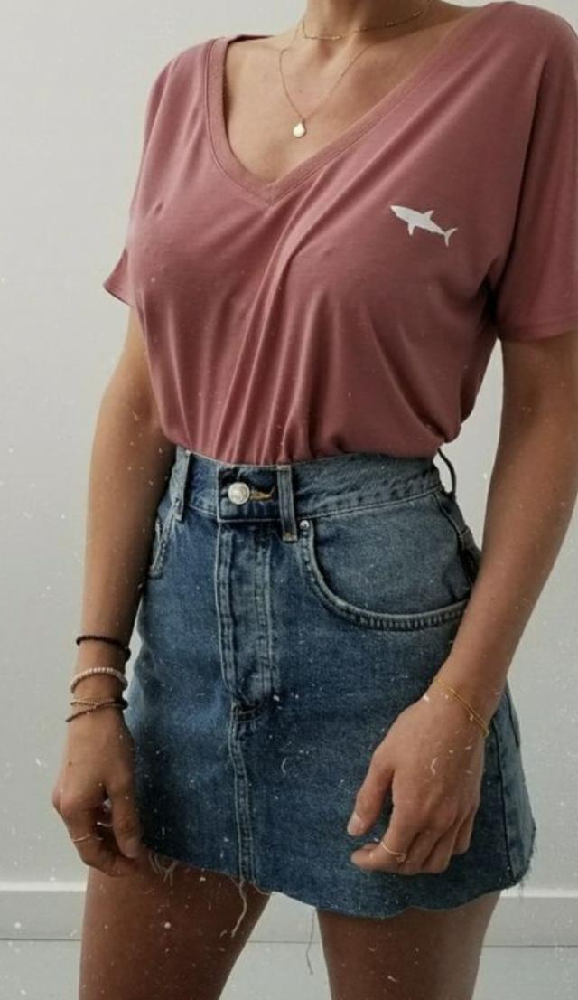 D E N I M | | |    # skirt