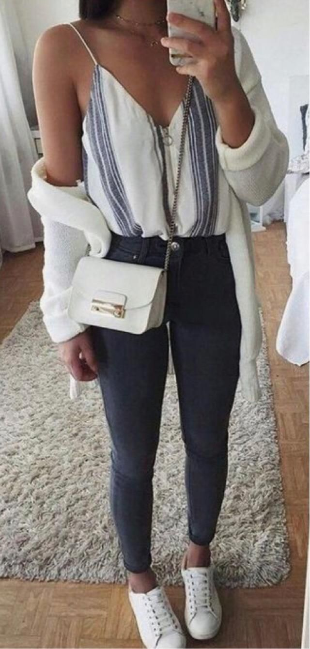 An outfit for a family party