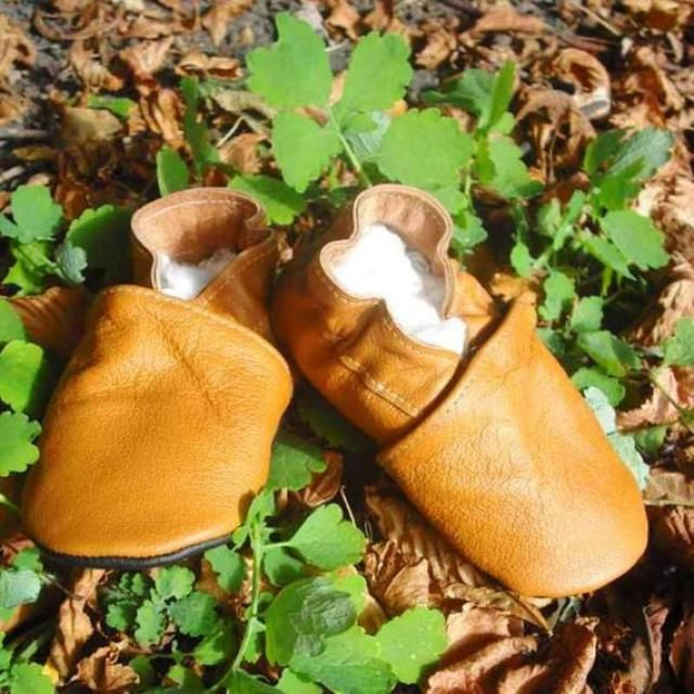 Brown Baby Shoes, Baby Plain Shoes, Baby Moccasins, Baby Shoes Brown, Genuine