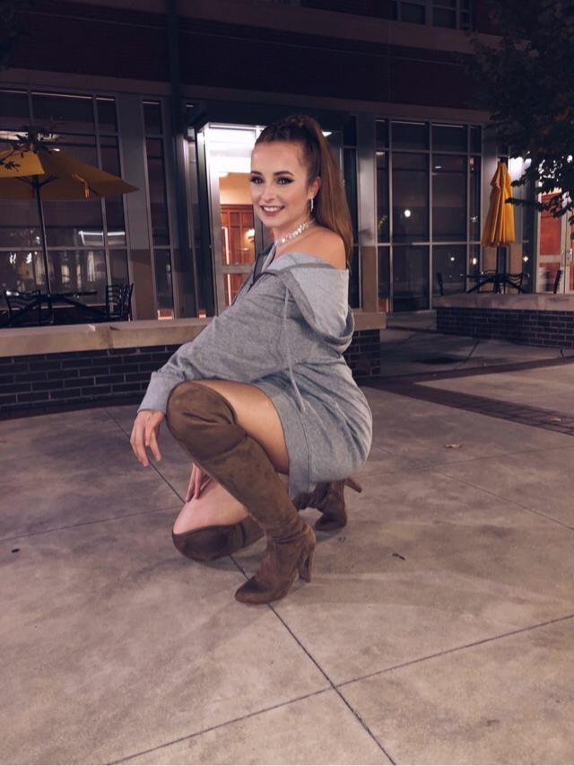 Ariana Grande inspired look from Halloweekend