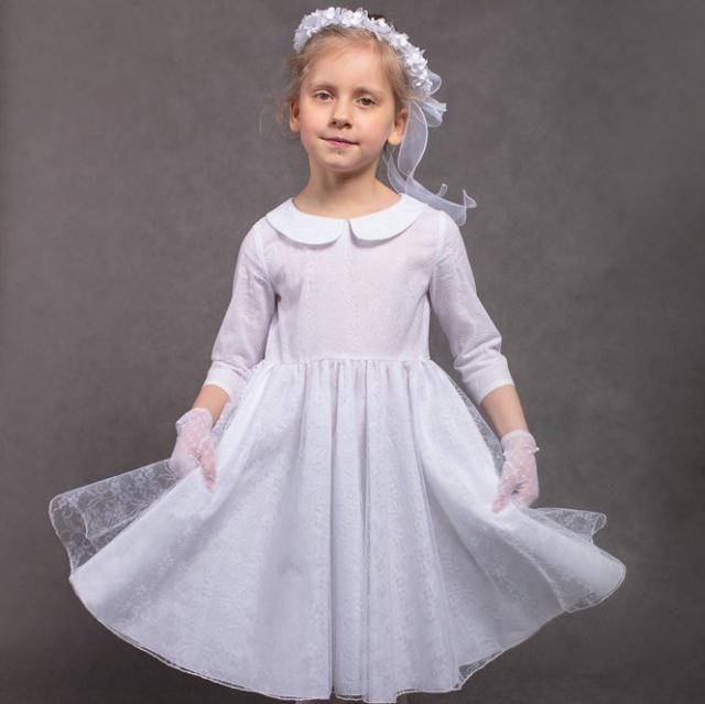 5401b9fbe Communion dress Flower girls dress First communion dress Junior bridesmaids  dress Girls dress Wedding dress Dress