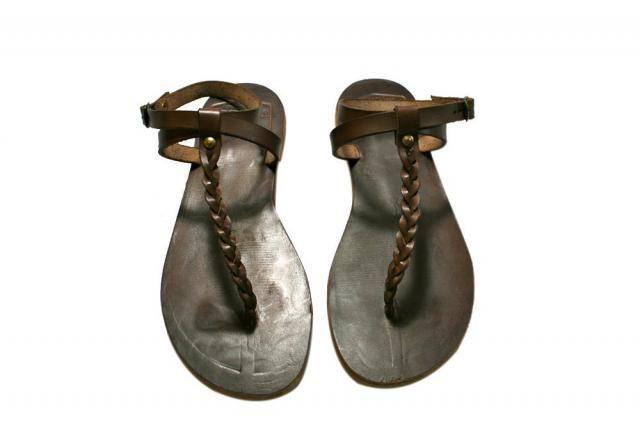 0841c7e6e Brown Feel Leather Sandals for Women  amp  Men - Handmade Leather Sandals