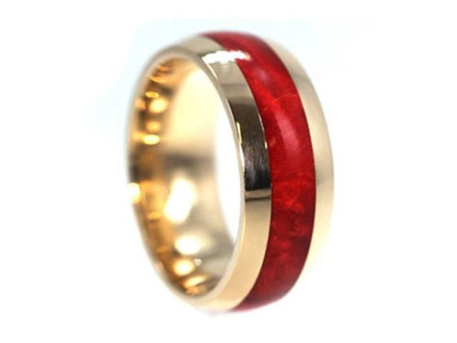 Gold Wedding Band Ring Mens Womens Unique