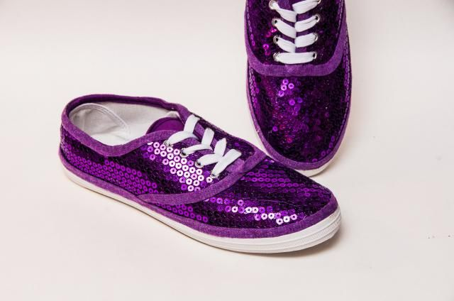 c4aa0c49441803 Sequin - CVO Grape Purple Canvas Sneaker Tennis Shoes