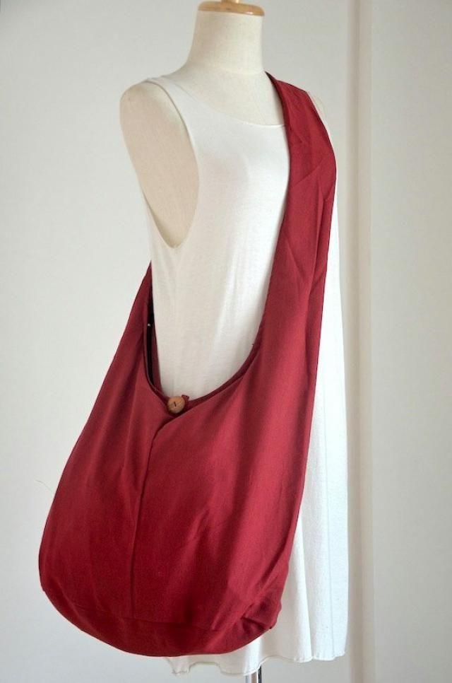 b6aeb4404a3d Red Cotton Messenger Bag Shoulder Bag Handbags Hippie Bag Hobo Bag Sling Bag  Crossbody Bag Diaper
