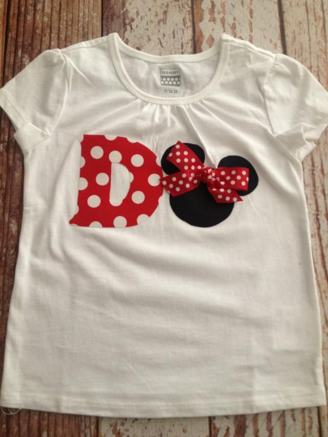 Minnie Mouse Inspired Shirt Birthday Party Disney Vacation