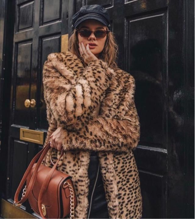 This animal coat is cheap on zaful but seriously soft and safe