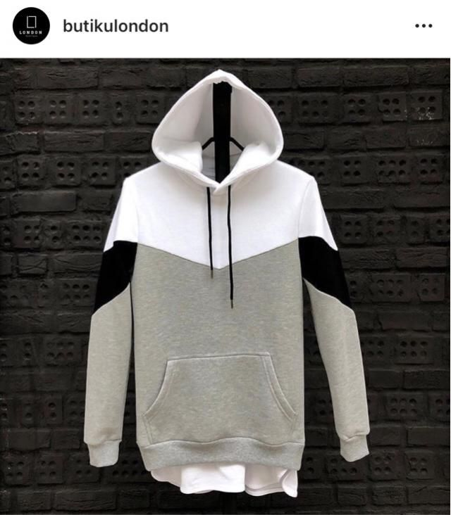 grey hoddie from: @butikulondon