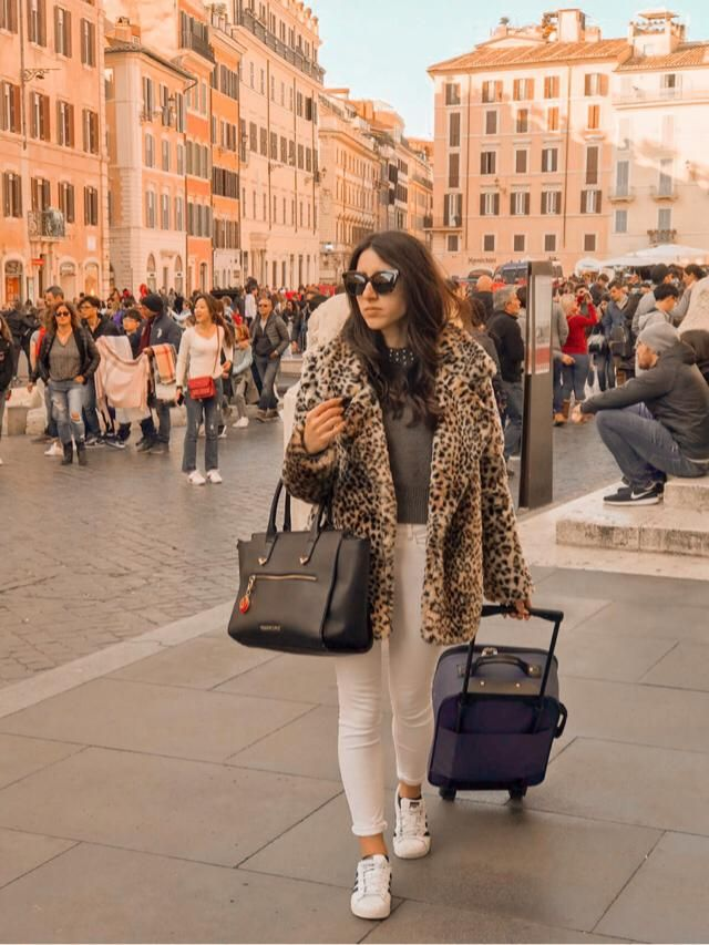 Piazza di Spagna, Rome, Italy. Beige shades.