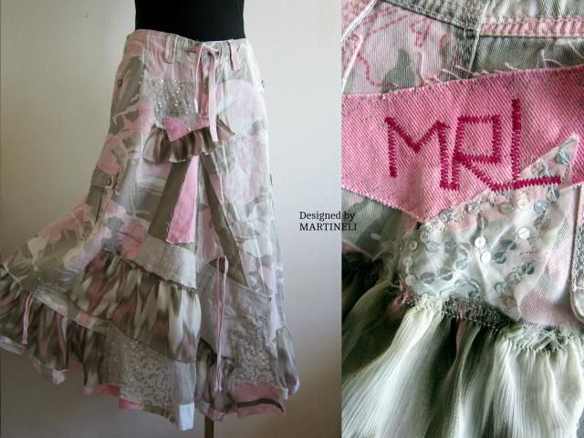 5d7a524bad XL Camouflage Skirt Military Style Upcycled Denim Plus Size Denim Patchwork  Plus Pop Art Skirt Funky