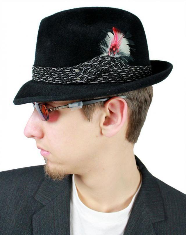 740e8c7fb0e47 Mens Fedora - Vintage 50s 60s Mallory Fur Felt Hat  amp  Box 6 7