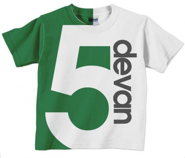 Boyamps Birthday Shirt Personalized Childrens Number T 1st 2nd