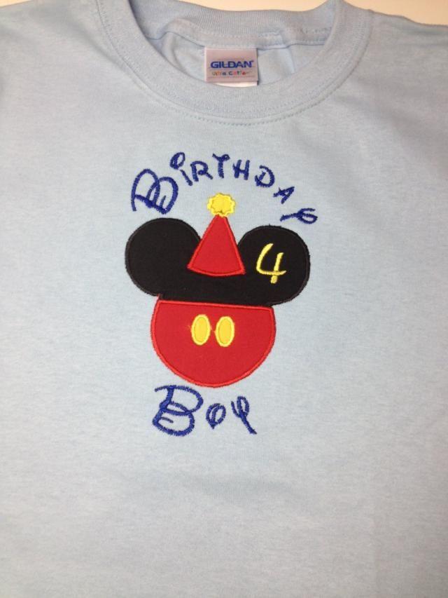 Disney Birthday Boy Shirt