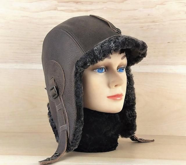 2019 Best Leather Ushanka Hat Images And Outfits  2bd4bf0ac2c