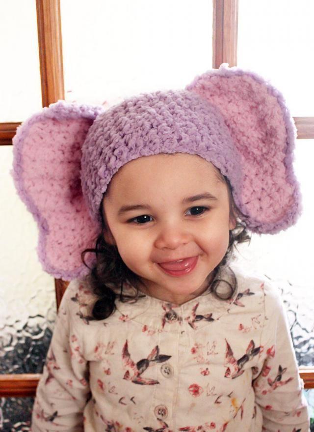 35 Crochet Animal Hat Patterns | AllFreeCrochet.com | 879x640