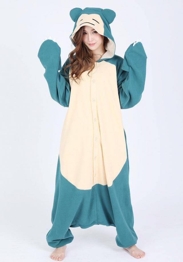 80431a4c46b KIGURUMI Cosplay Romper Charactor animal Hooded PJS Pajamas Pyjamas Xmas  gift Adult Costume outfit Sleepwear Bear
