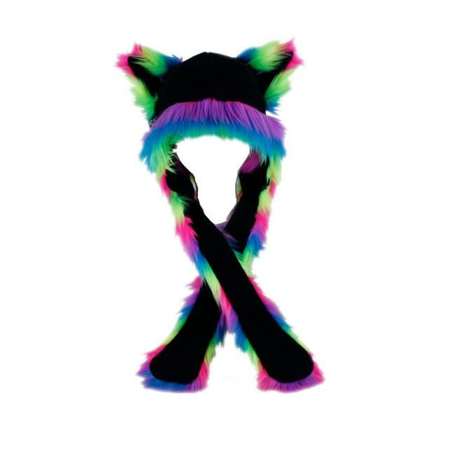 2019 Best Fur Rainbow Cat Hat Images And Outfits   Z-Me ZAFUL