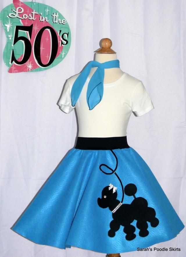 67db1d511af6 Adorable Toddler 3pc Prancing poodle skirt outfit Your choice of Size and  Color 0-12mos