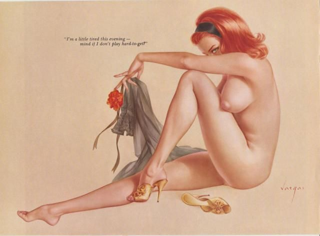 Topic simply vintage vargas pin up girls nude