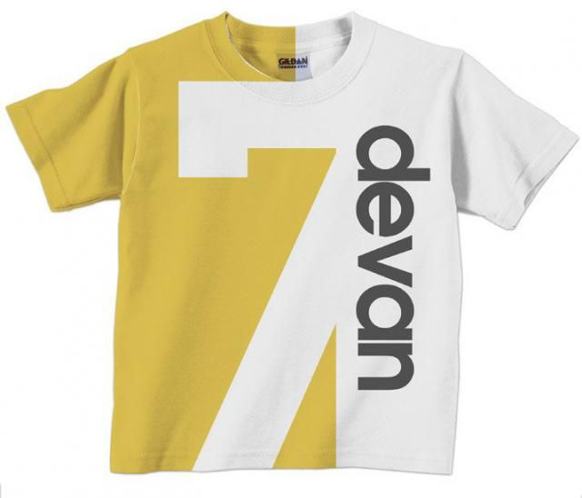 Birthday Number Shirt Personalized Childrens T Boy Or Girl 1st