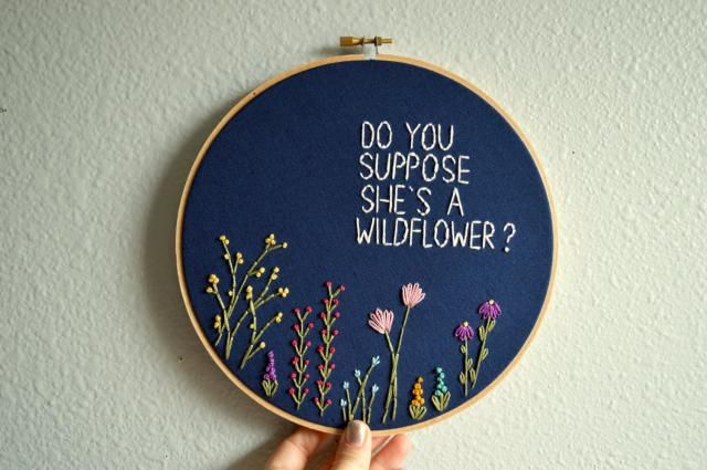 2019 Best Embroidery Hoop Wall Hanging Images And Outfits