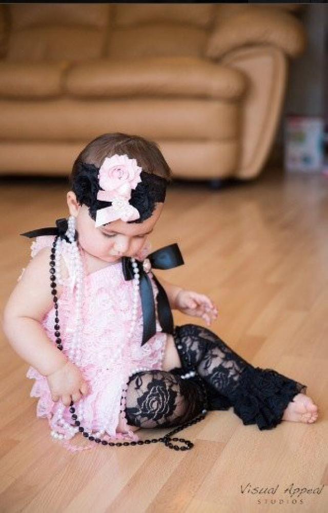 f98ace55180 Pink Lace Romper~Baby Lace Romper~Lace Romper Newborn~Coming Home Outfit  Newborn