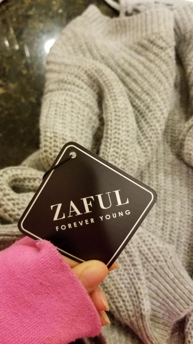 I got my first Zaful item today and I'm in love with it. Absolutely beautiful and good quality so I'll definitely wa…