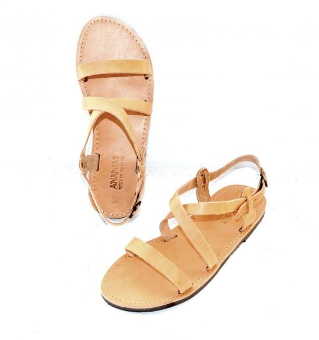ca53e387183f07 Handmade Roman Grecian leather sandals-NEW STYLE