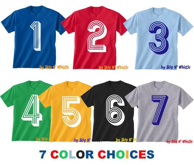 BIRTHDAY KIDS T Shirt Soccer Number 3 Size 2t 3t