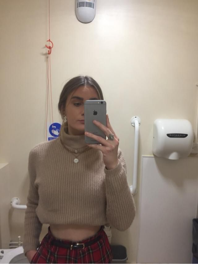 Turtle neck sweaters are a must in the winter