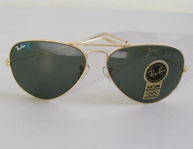 81805e335ea New Vintage B L Ray Ban Large Metal II Gold G-15 L2846 62mm Aviator  Sunglasses