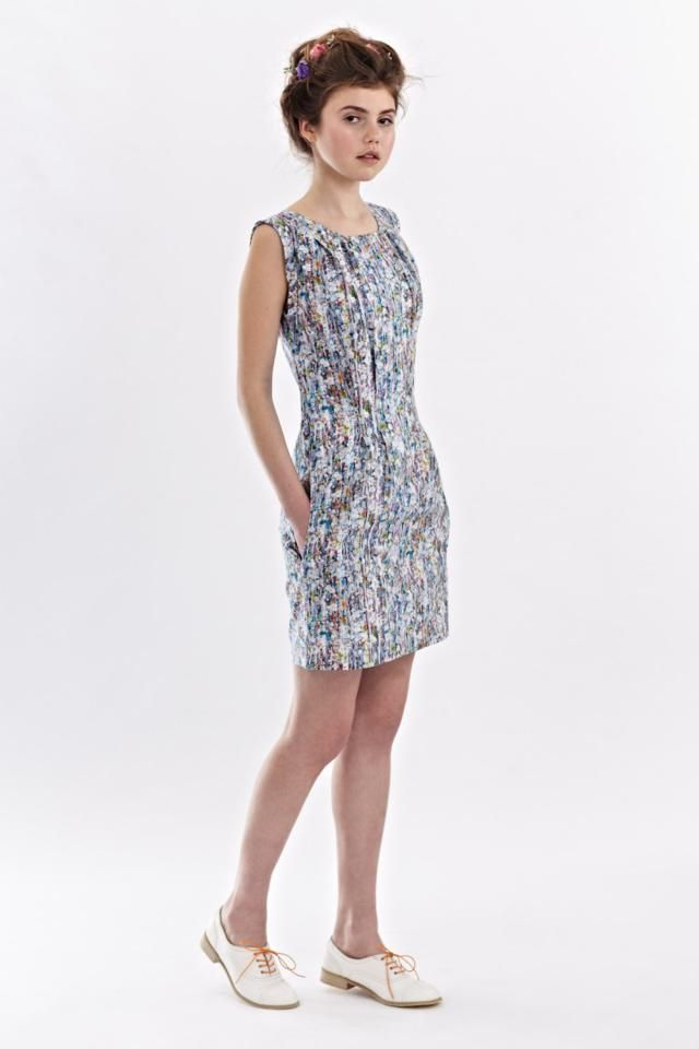 be3eb82bc71 Floral pencil dress Floral dress Pencil floral dress Summer dress  Sleeveless dress Womens dresses Liberty print
