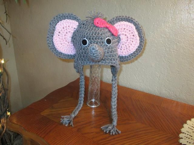 Crochet Elephant Hat/baby hat/crochet baby hat/baby boy hat ...   480x640