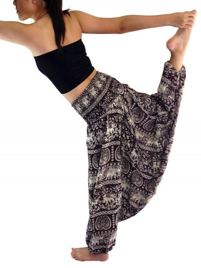 a3a50527ed Harem Pants Women Yoga Pants Drop Crotch Aladdin Pants Maxi Pants Boho Pants  Gypsy pants Jumpsuit