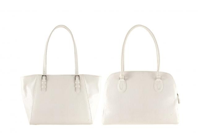 1d61dd7ce White snake patent leather tote | AMY small x VALERIA | (Premium bag, unique