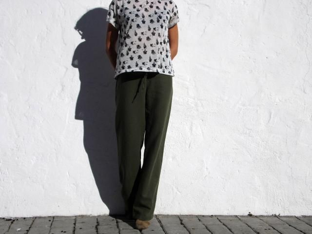 451d793c2a Linen trousers khaki trousers linen pants khaki pants army pants yogi pants  straight leg trousers lounge