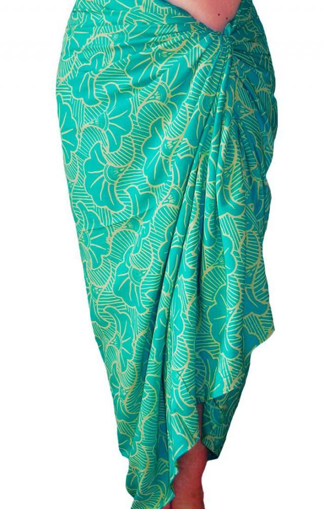 eae41258d1 PLUS SIZE Sarong Women&;s Clothing ~ Beach Sarong Wrap Skirt Batik Pareo  ~