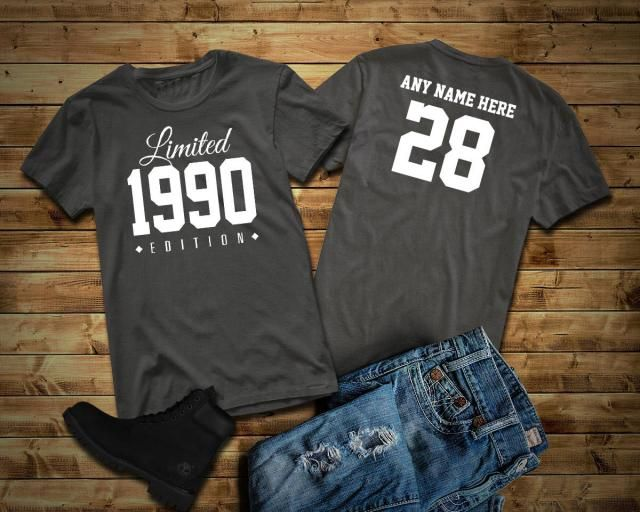 Men/'s Personalised 56th Birthday T-Shirt 1962 Add name and change year if needed