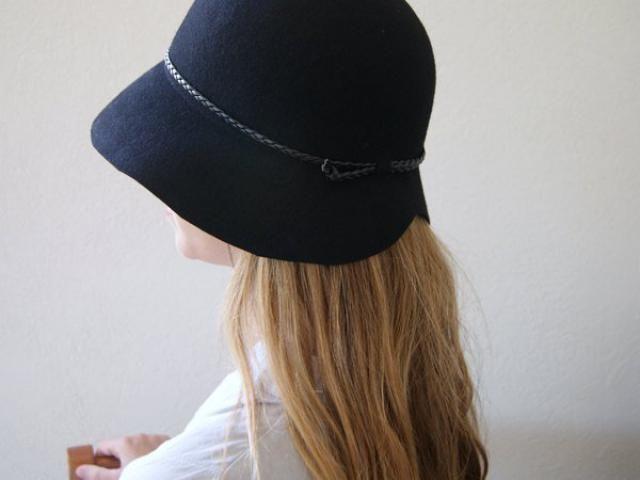2019 Best Black Felt Cloche Hat Images And Outfits  ca5c2668e5d