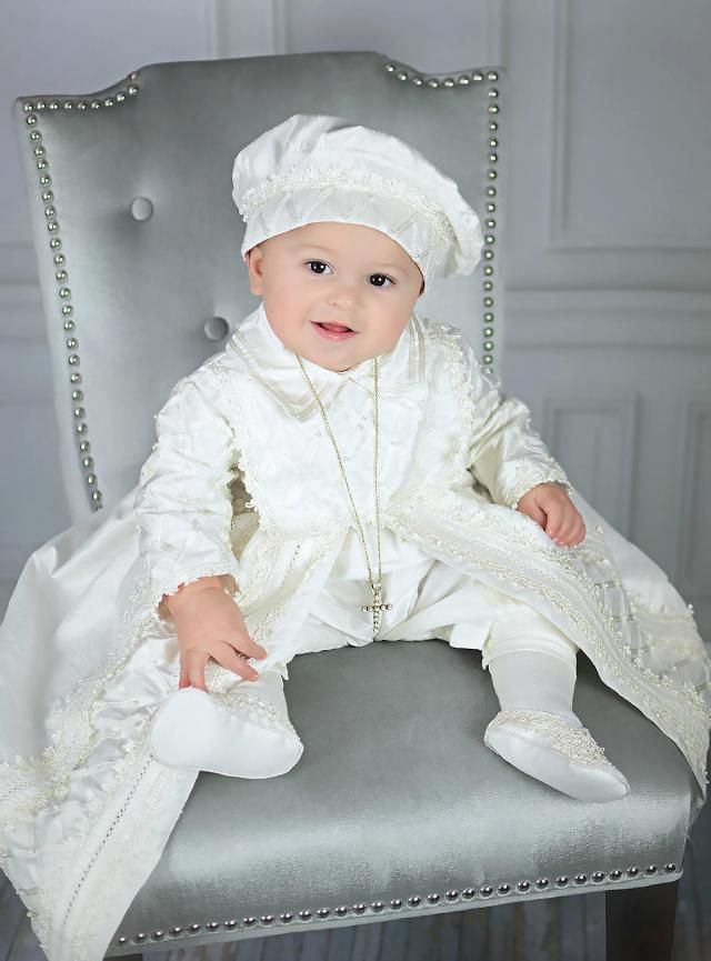 6dc86be76 Baby Boy Christening Gown, Spanish Style outfit (ropones para bautizo). Baptism  Outfit