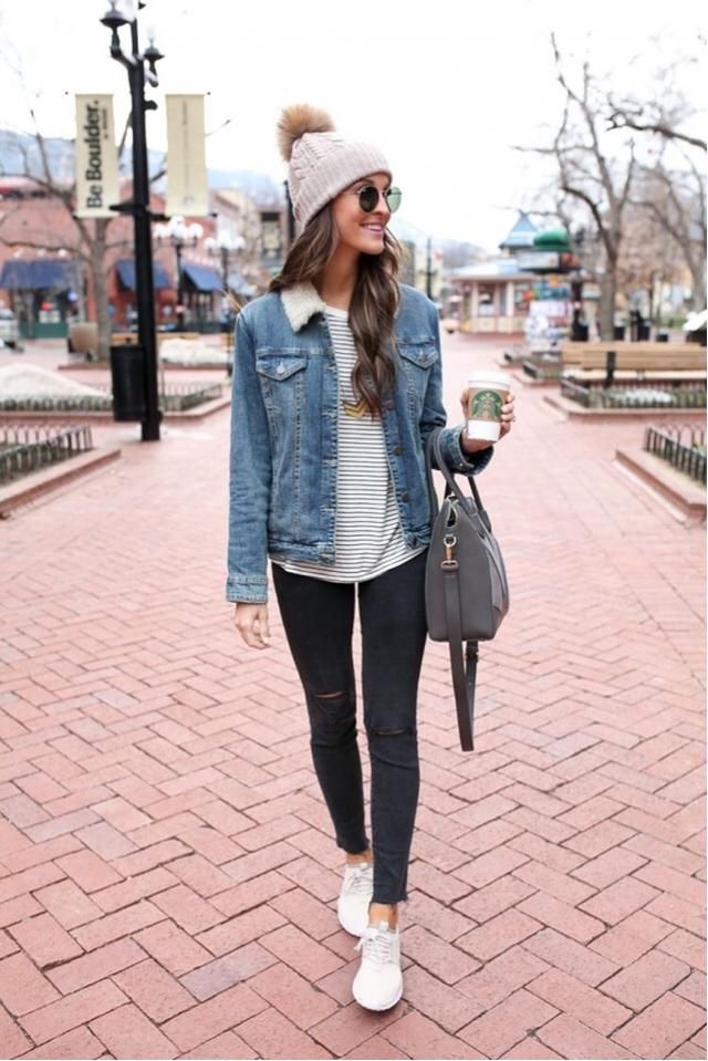 Here's a beautiful denim jacket, it's perfect for winter ❤️❤️❤️ ❤️❤️❤️❤️❤️          …