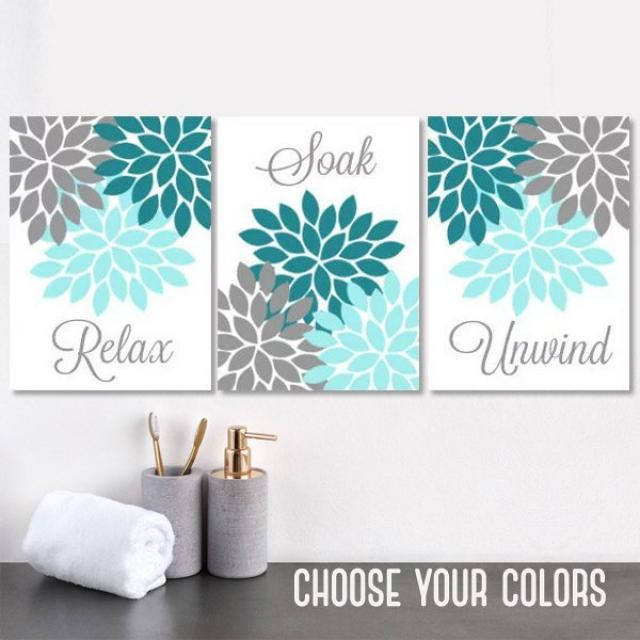 2019 Best Teal Gray Wall Art Images And Outfits Z Me Zaful