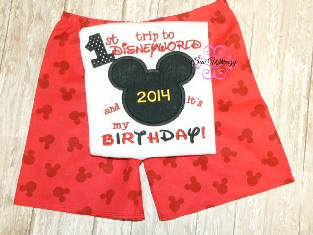 67b2226d Mouse trip shirt and matching shorts- Birthday world trip shirt- Family  Vacation shirt-