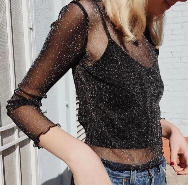 Beautiful black Shiny mesh ❤️❤️❤️❤️❤️ ❤️❤️❤️❤️❤️
