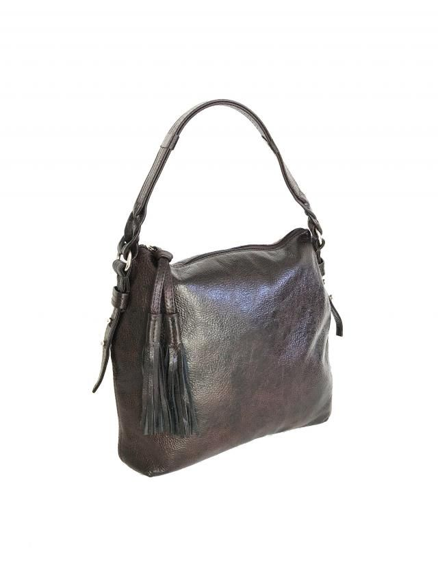 Wash Leather Handbag with Tassel, Casual Bag, Rustic Leather Purse, Trendy  Purse, d3bd5a6b91